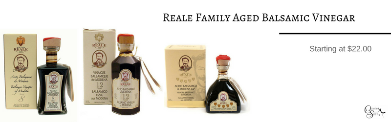 aged balsamic vinegar from modena italy