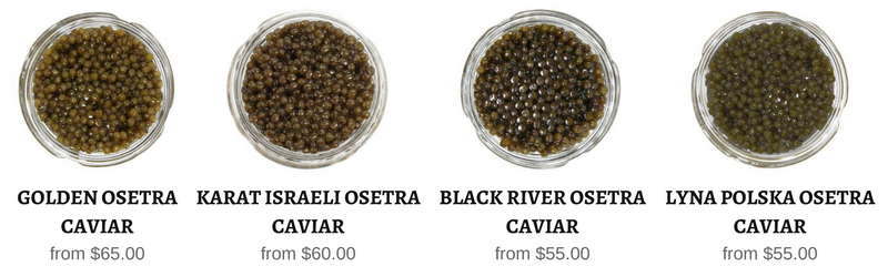 All osetra caviar in stock