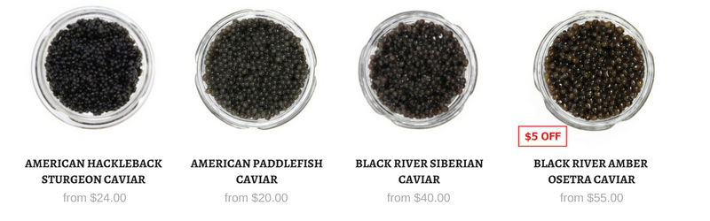 American Caviar - All Caviar in Stock