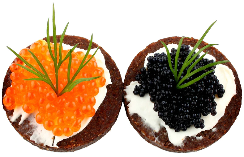 caviar and roe